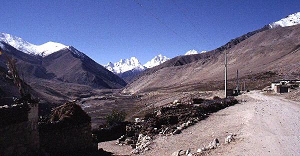 motorreis naar tibet